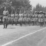 Les troupes FFL entrent à Ohms (ou Alep) 1941