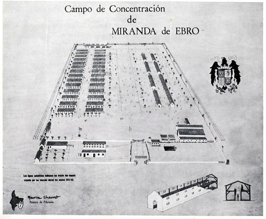 Le camp de Miranda