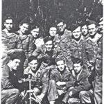 4e section Levens du BIMP au depart pour l'attaque de Cabanes Vieilles mars 1945