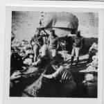 Patrouille : Ravitaillement au sud de Bir Hakeim
