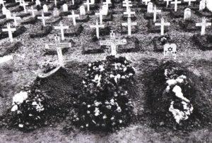 1ère sépulture de Diego Brosset au cimetière de Villersexel
