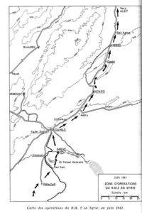 Juin 1941 : Djebels syriens (BM 2)