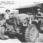 Deux hommes du Génie et leur Morris - Col. OZANNE