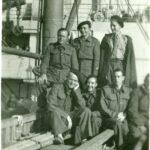 Septembre 40 : De l'Angleterre vers l'Afrique, à bord du Pennland (Chars)