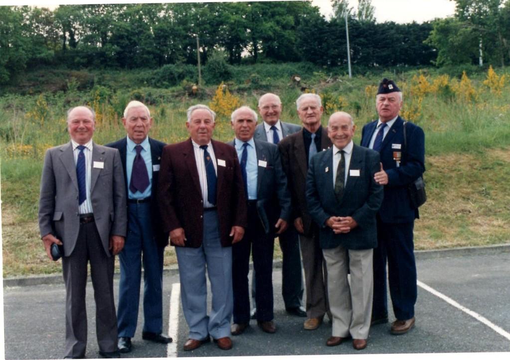Quelques Anciens de la 1e compagnie du Génie le 24 Mai 1991