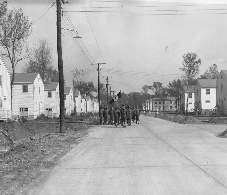 Le Bataillon des Antilles à La Nouvelle Orléans (octobre 1942)