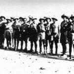 Groupe d'artilleurs en Erythrée Coll. Nordmann