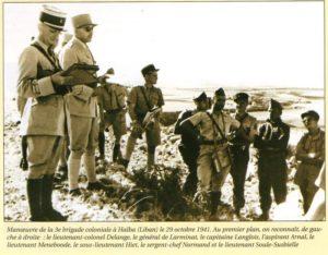 Octobre 1941 : Liban