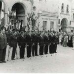 Attigny, Juin 1952 : Remise de décorations aux anciens du BM 24
