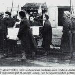 André Novello (Génie) , Mort pour la France à Oberbruck