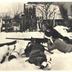 EBERSMUNSTER en Alsace en janvier 1945