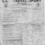 Le Train-Sport : journal de la 1e compagnie du Train
