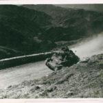 Le 1e RFM à l'attaque - Vu du col du Tueis