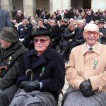 Cérémonie de sublimation de l'Ordre de la Libération le 12 novembre 2012 dans la Cour d'Honneur des Invalides