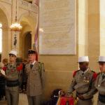 Hommage de la Légion