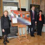 Vernissage de l'expostion en présence du conseiller de l'ambassade de Russie