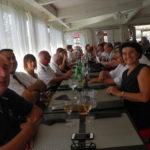 photo des participants au repas