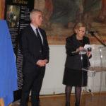 discours d'Yvette Quelen en présence du Maire d'Asnières