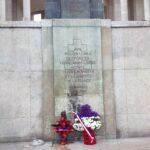 Dépôt de gerbes aux monument aux morts de F.F.L.